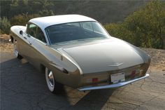 1959 Cadillac Coupe deVille designed by Raymond Loewy
