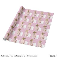 #zazzle Sold this  #christening #cross #communion #wrappingpaper to NJ. Thanks for you who purchased this. Check more at www.zazzle.com/celebrationideas/first+holy+communion