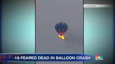 BureauSpy: Hot Air Balloon Crashes Carrying 16 in Texas, No S...