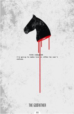Minimalist movie posters with quotes - 01