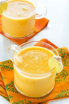 Carrot Ginger Turmeric Steamer (or Chiller) from Crave Eat Heal