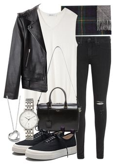 """""""Untitled #16131"""" by florencia95 ❤ liked on Polyvore featuring Polo Ralph Lauren, rag & bone/JEAN, T By Alexander Wang, Yves Saint Laurent, Eytys, Alexander Wang, FOSSIL, Elsa Peretti, women's clothing and women's fashion"""