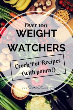 Healthy Weight Watchers Crock Pot Recipes for dinner.  It's not just chicken folks.