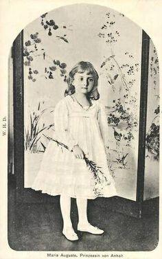 Prinzessin Marie Auguste von Anhalt, zeitw. Prinzessin von Preussen 1898-1983 | Flickr - Photo Sharing!