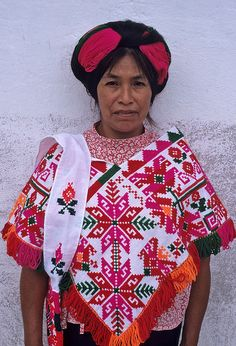 Huastec Woman by Ilhuicamina on Flickr.