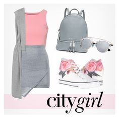 """Untitled #175"" by fancy-chic ❤ liked on Polyvore featuring Glamorous, Boohoo, Converse, MICHAEL Michael Kors and Splendid"