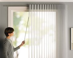Hunter Douglas offers a number of different manual operation systems that are designed to address your needs, while adding value to your home. Options include Hunter Douglas LiteRise®, UltraGlide®, EasyRise™ and Vertiglide™. Patio Door Blinds, Patio Door Coverings, House Blinds, Curtains With Blinds, Window Coverings, Window Blinds, Sheer Curtains, Decor Blinds