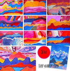 Creative Art Projects for Busy Teachers Art Lessons For Kids, Artists For Kids, Art Lessons Elementary, Deep Space Sparkle, Winter Art Projects, Cool Art Projects, Project Ideas, Cs Lewis, Nikola Tesla