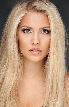 Blonde Beauty, Blonde Hair, Hair Beauty, Beautiful Eyes, Most Beautiful Women, Gorgeous Blonde, Blonde Women, Woman Face, Pretty Face