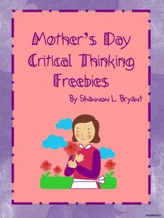 Happy Mother's Day!  I hope you enjoy these 2 Mother's Day FREEBIES!I would love for you to check out my complete Mother's Day resource pack fo...