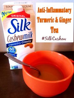 I am in ♥ with @lovemysilk 's NEW #Cashewmilk! Can't wait to try this recipe. #GotItFree #SilkCashew