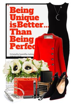 """""""Being Unique Is Better Than Being Perfect"""" by queenrachietemplateaddict ❤ liked on Polyvore featuring James Perse, Aquilano.Rimondi, The French Bee, Charlotte Olympia, Yves Saint Laurent, Trish McEvoy, Christian Louboutin and Anita Ko"""