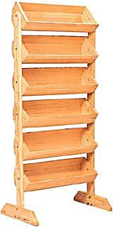 Barrel Display, Wood Display Fixture, Wooden Display Rack, Wood Stand