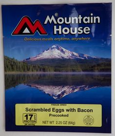 Mountain House- Scrambled Eggs With Bacon