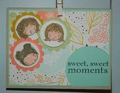 Love the new Sweetie Pie stamp set! Stampin UP!, Sweetie Pie, card making