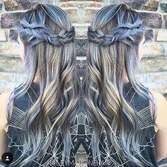 O sutil. | El pelo denim es la última tendencia de coloración para el cabello y es absurdamente hermoso