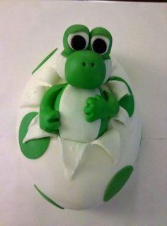 Yoshi Cake Topper