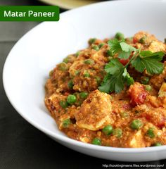 Matar Paneer :- Green peas and paneer cooked together into thick delicious gravy by Chef Sanjeev Kapoor! For Recipe Click here :- http://wonderchef.in/blog/?cat=320