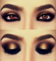 Pop Eye Makeup Ideas | Makeup and beauty Trends for 2015 Spring/Summer and Fall/Winter. Make up ideas and colors