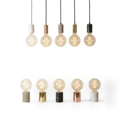 Price From: £35 Every interior needs a light bulb moment, and that's where the Bristol comes in. With a choice of marble, metallic and concrete finishes, these textured tubular lights make the ideal design for smaller, industrial tinged spaces.