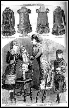 1881 Vintage Fashion Plates - Ladies Home Journal No.15 | Flickr: Intercambio de fotos