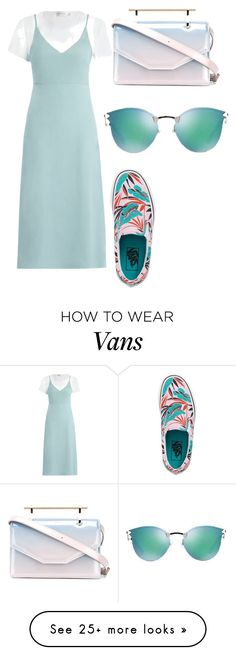 """Untitled #3057"" by thestylegosssip on Polyvore featuring Zimmermann, M2Malletier, Vans and Fendi"