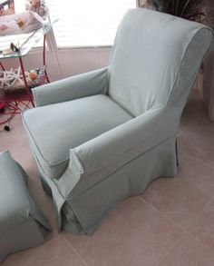 1 Cushion Chair Slipcover Custom-Made for your chair