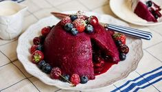 Easy to make summer pudding