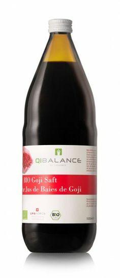 QIBALANCE BIO Goji Berries Saft 1l QI BALANCE Berries, Drinks, Bottle, Juice, Glass Bottles, Drinking, Beverages, Flask, Bury