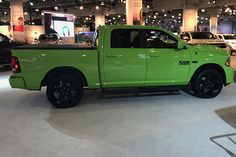 Ram showed off two new trucks at the New York Auto Show
