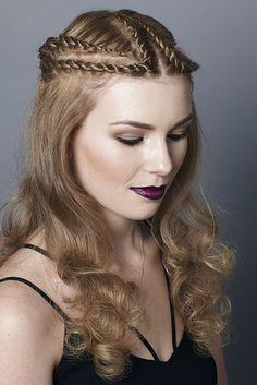 Winner NZARH Regional Hairdressing Awards 2014 - Urban Night Hair Hair: Hazel Newman Photography: Jo Bayliss Makeup: Rebekah Banks Model: Ashlee O'Neill