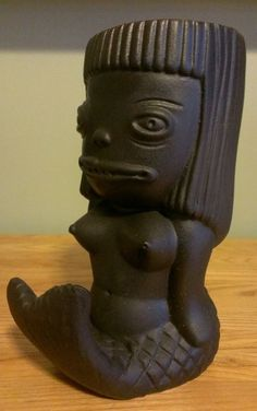 Munktiki Black Friday Mermaid Tiki Mug