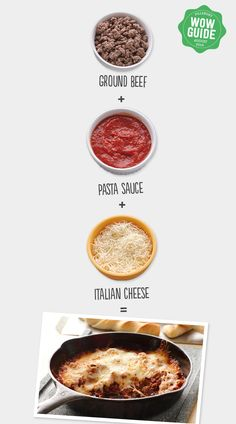 This 3-ingredient pizza dip... Use breadsticks and make it a meal or slather it on a bun