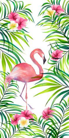 32 ideas wall paper iphone pink flamingo for 2019 Flamingo Painting, Flamingo Art, Pink Flamingos, Cute Wallpaper Backgrounds, Flower Wallpaper, Cute Wallpapers, Trendy Wallpaper, Flamingo Illustration, Illustration Animals