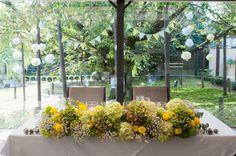 Wedding Flower /ゲストテーブル装花