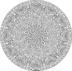 coloring pages for adults | ... Mandala Coloring Pages Mandala-coloring-9 – Free Coloring Page Site