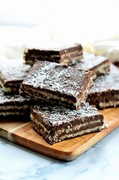 Healthy Sweet Snacks, Healthy Food Options, Healthy Cake, Stevia Recipes, Biscuits, Good Food, Yummy Food, Dessert Recipes, Desserts