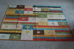 Moda Lollipop quilt | Flickr - Photo Sharing!