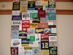 Welcome to Custom Memory Quilts, celebrating 21 years of quilting, since Enjoy your visit and feel free to contact me!When I launched this website in 2008 I was gathering pictures of the quilts I'd made over the years and realized I'd made over 75 q Hanging Quilts, Quilted Wall Hangings, Pant Hangers, Great Gifts, Memories, Memory Quilts, Shirt Quilts, Fabric, Graduation Ideas