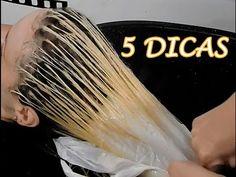 Como  NÃO MANCHAR o cabelo ao fazer luzes com a touca