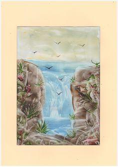 EL KRAL www. Wax Art, Oil Water, Encaustic Painting, Homemade Cards, Acrylics, Artworks, Mixed Media, Card Making, Drawings