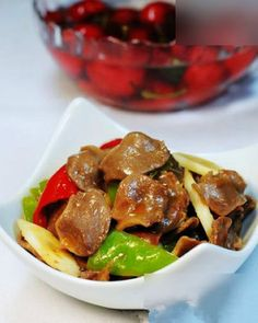 Stir-fried chicken gizzards....I'm a Chicken gizzard lover, you may now not continue to follow me  :)