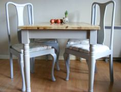 Cottage table farmhouse table dining table and chairs shabby chic furniture
