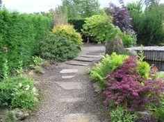 Meditation Garden at Birkheads in April