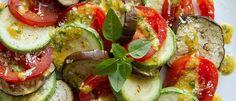 Salada de legumes grelhados - Lucilia Diniz