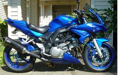 Sv1000s customized into a single pipe