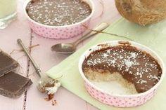 Gâteau au bounty, sans sucre sans beurre