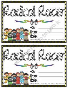 Racing classroom theme