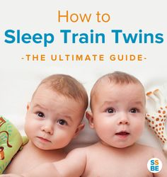 Are you up multiple times in the night putting your twins to sleep? Get the sleep you need! Read this step-by-step guide to sleep train twins.