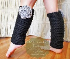 free pattern for leg warmers to crochet | Crochet Pattern: The Chelsea Leg Warmers -Toddler, Child, and Adult ...
